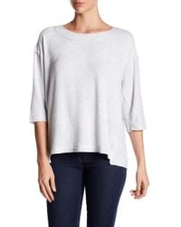 Heather by Bordeaux - Hatchi 3/4 Length Sleeve Sweater - Lyst