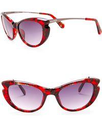 Balmain - 53mm Cat Eye Sunglasses - Lyst
