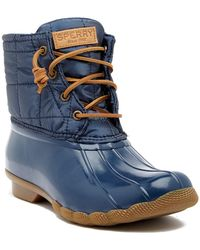 online store 41ffa 833af Women s Sperry Top-Sider Rain boots On Sale - Lyst