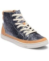 b29711c1252 Lyst - Steve Madden Earnst Glitter High-top Trainers