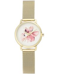 Vince Camuto - Women's Czech Crystal Embellished Bracelet Watch, 36mm - Lyst