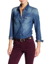 Level 99 - Stacey Western Shirt - Lyst