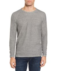 Grayers - Jensen Double Cloth Crew Neck Shirt - Lyst