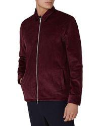 TOPMAN - Corduroy Shirt Jacket - Lyst