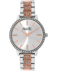 Nanette Nanette Lepore - Women's Two-tone Metal Watch, 36mm - Lyst