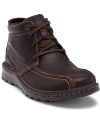 Clarks - Vanek Rise Mid-top Leather Boot - Lyst