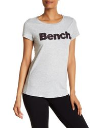 Bench - Corp Logo Tee - Lyst