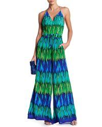 Shahida Parides - Convertible Palazzo Silk Jumpsuit - Lyst