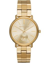 MICHAEL Michael Kors - Women's Jaryn Gold-tone Stainless Steel Watch, 38mm - Lyst
