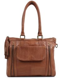 Day & Mood | Pine Leather Satchel | Lyst