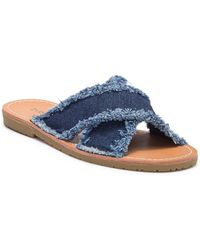 Dirty Laundry - Empowered Slide Sandal - Lyst