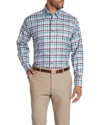 Robert Talbott - Anderson Ii Checkered Long Sleeve Classic Fit Shirt - Lyst