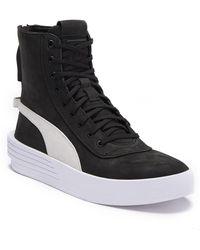f9b16b56029c Lyst - PUMA  Advantage  Sneakers in Black for Men