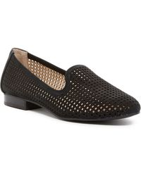 Adam Tucker - Yale Perforated Nubuck Smoking Flats - Lyst