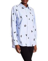 Current/Elliott - The Derby Shirt - Lyst