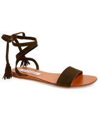 Steve Madden - Kapri Wraparound Lace Sandal (women) - Lyst