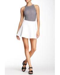 American Apparel - Brigitte Mini Skirt - Lyst