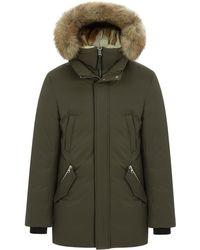 Mackage - Edward Hip Length Down Winter Parka W/ Fur - Lyst