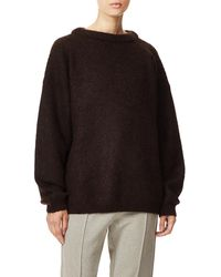 18376ee9a5e1 Lyst - Acne Dramatic Mohair Oversized Sweater in Blue