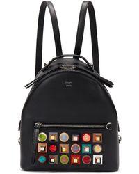 Fendi - Women's Mini Backpack Black - Lyst