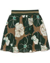 Anna Sui | Camellia Print Skirt | Lyst