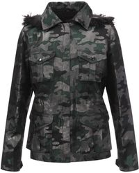 Anna Sui - Shimmer Camouflage Jacket - Lyst
