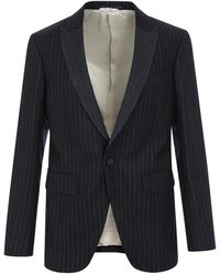 Mauro Grifoni - Completo Giacca Smok Suit - Lyst