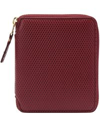 Comme des Garçons - 17fw Luxury Group Full Zip Wallet Burgundy - Lyst