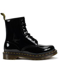 Dr. Martens - 1460 W Patent Lamper 8-eye Boots - Lyst