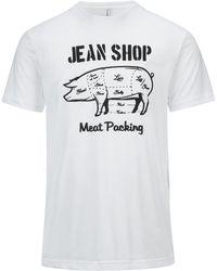 Jean Shop - Butcher Pig Tee - Lyst
