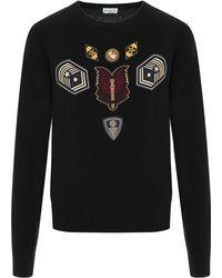 Dries Van Noten - Master Embroidery Sweater - Lyst