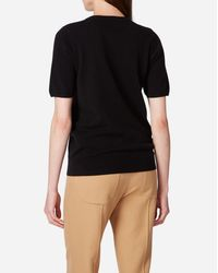 N.Peal Cashmere - Round Neck Cashmere T Shirt - Lyst