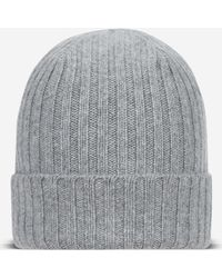 N.Peal Cashmere - Chunky Ribbed Cashmere Hat - Lyst