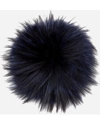 N.Peal Cashmere - Raccoon Fur Detachable Pom - Lyst