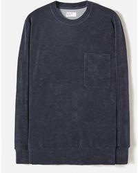 Universal Works - Loose Pullover Fleece - Lyst