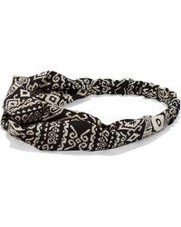 New York & Company - 4-piece Mini Hair Clip Set / Aztec-print Headwrap - Lyst