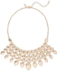 New York & Company - Goldtone Statement Necklace - Lyst