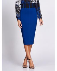 1a32a952fdb49 New York   Company - Corset Pencil Skirt - Gabrielle Union Collection - Lyst