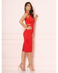 1968e5af3486 New York   Company - Eva Mendes Collection - Graziela Cutout Sheath Dress -  Lyst