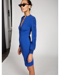 5be437368ee New York   Company - World Tour  Zip-front Sweater Dress - Gabrielle Union