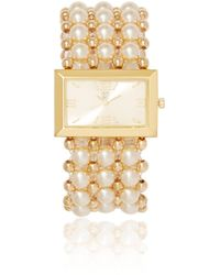 New York & Company - Faux-pearl Watch - Lyst