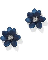 New York & Company - Beaded Floral Post Earring - Lyst