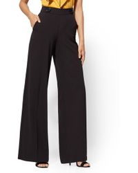 New York & Company - 7th Avenue Pant - Button-accent Palazzo - Lyst