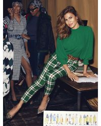 New York & Company - Eva Mendes Collection - Elise Plaid Pant - Lyst