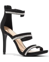 New York & Company - Jeweled Faux-suede Sandal - Lyst