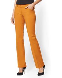 New York & Company - 7th Avenue Pant - Petite Barely Bootcut - Modern - All-season Stretch - Lyst