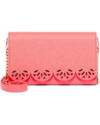 New York & Company - Perforated Clutch Wallet - Lyst
