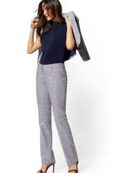 383c79e47 New York & Company Tall Bootcut Pant - Mid Rise - Superstretch - 7th Avenue  in Blue - Lyst