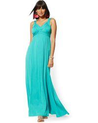 e8e122470f Wyldr Goddess Maxi Dress in Green - Lyst