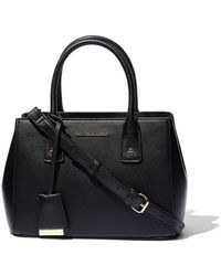 New York & Company - Mini Faux-leather Satchel Handbag - Lyst